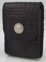 Buffalo Nickel Derringer Holster Case Matte Alligator